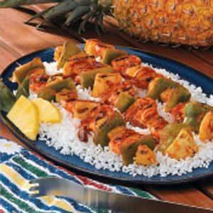 Grilled Shrimp Kabobs