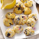 Lemon Blueberry Drop Scones
