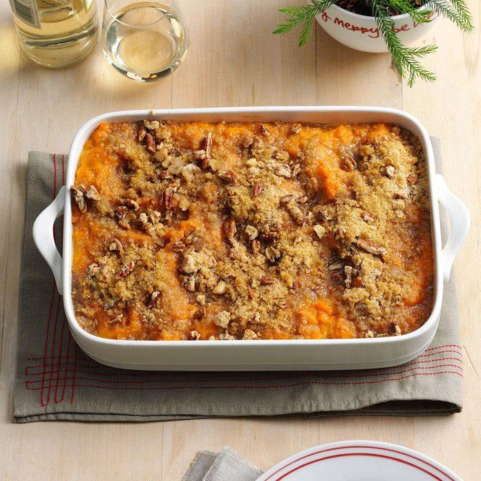 Sweet Potato & Chipotle Casserole