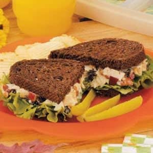 Waldorf Chicken Salad Sandwiches