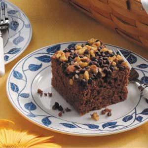 Apple German Chocolate Cake