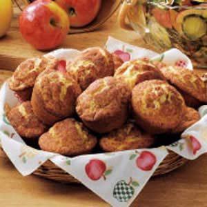 Cream Cheese Apple Muffins