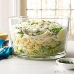 Make-Ahead Hearty Six-Layer Salad