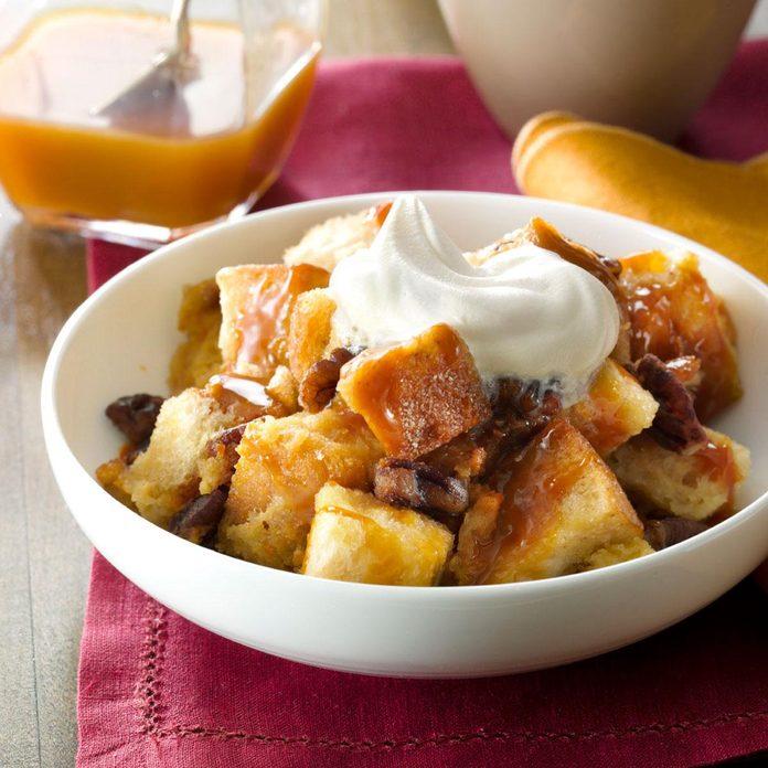 Butterscotch-Pecan Bread Pudding