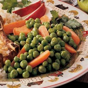 Buttery Peas and Carrots