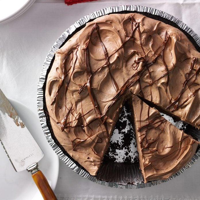Texas: Creamy Hazelnut Pie