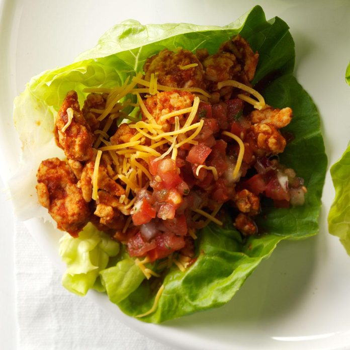 Southwest Turkey Lettuce Wraps