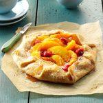 Raspberry Peach Tart