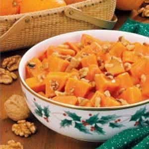 Orange-Nut Sweet Potatoes