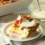 Eggs Benedict Bake with Bearnaise Sauce