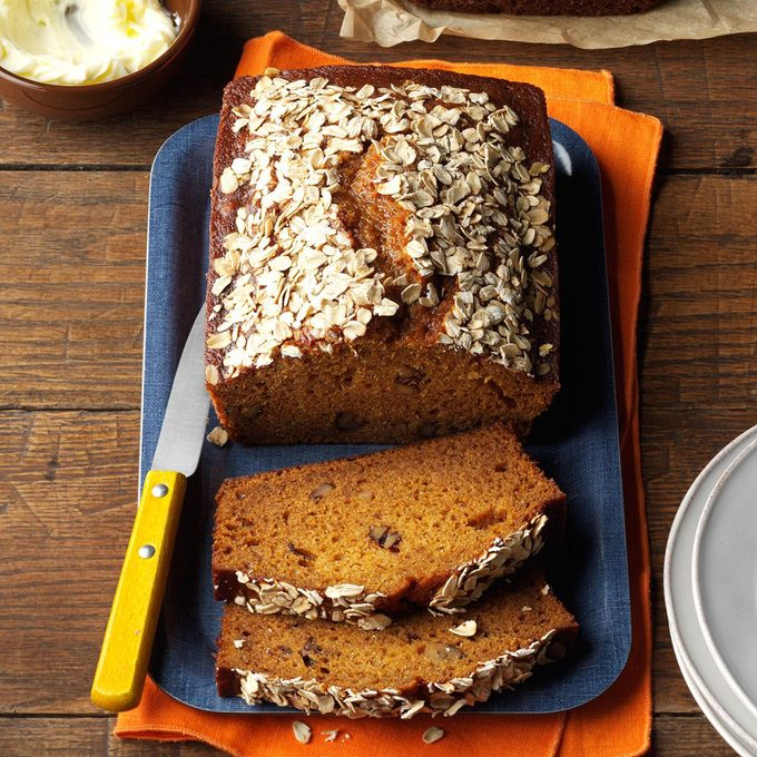 New England Pumpkin-Walnut Bread