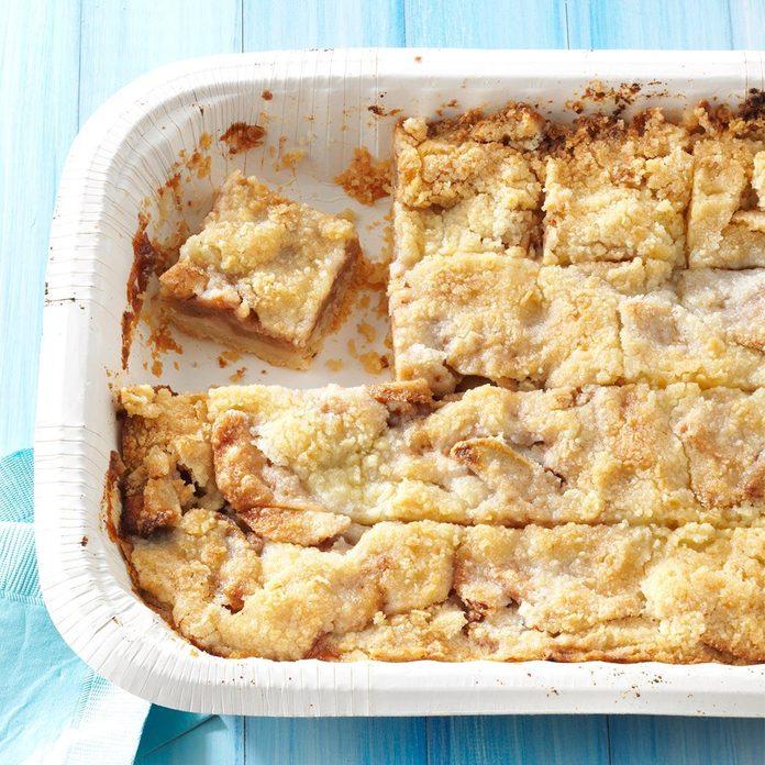 Apple Kuchen Bars
