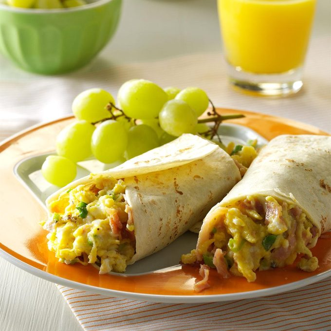 Inspired by: Ham, Egg & Cheese Wake-Up Wrap®
