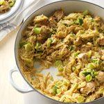 Cheesy Chicken & Broccoli Orzo