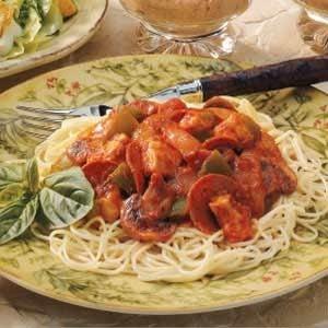 Zesty Turkey Spaghetti Sauce