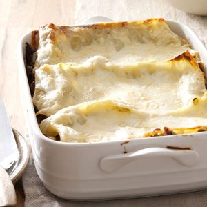 Smoky Four-Cheese Sausage Lasagna