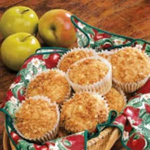 Raisin Apple Muffins