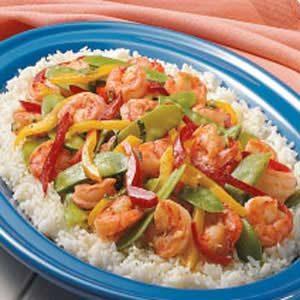 Garlic Shrimp Stir-Fry