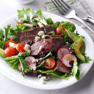 Balsamic Steak Salad