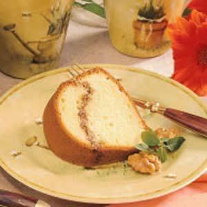 Walnut-Rippled Coffee Cake