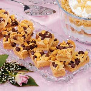 Peanut Chocolate Bars