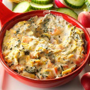 Bacon-Ranch Spinach Dip