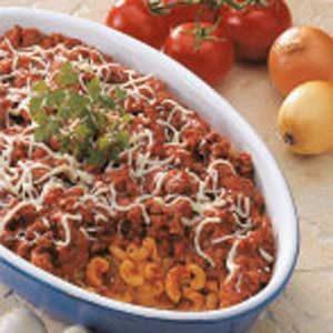 Meaty Macaroni Bake