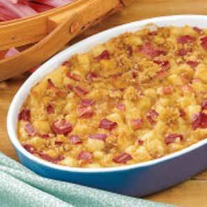 Contest-Winning Rhubarb Pudding