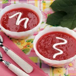 Spiced Rhubarb Soup