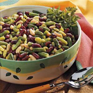 Dijon Four-Bean Salad
