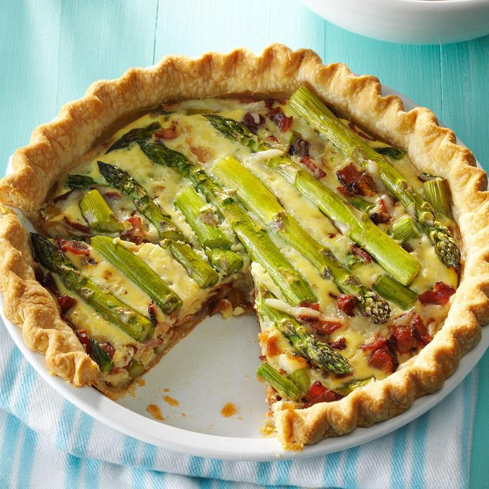 Inspired by Candice's Mini Asparagus Quiches