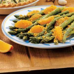 Orange Sauce Asparagus
