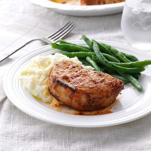 Lemon-Garlic Pork Chops