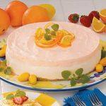 Orange Cream Cheesecake