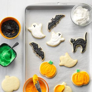 Halloween Party Cutout Cookies