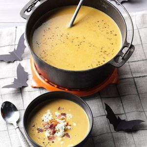 Anti-Vampire Potion (Butternut Squash & Garlic Soup)