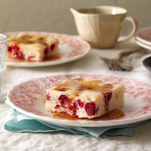 Grandma Pietz's Cranberry Cake Pudding
