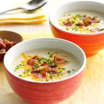 Slow-Cooked Loaded Potato Soup