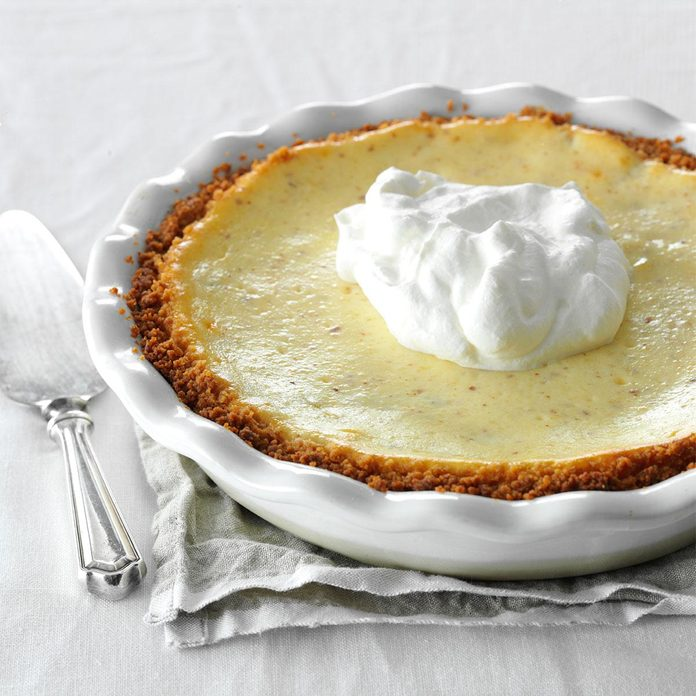Pineapple Pie with Coconut Cream