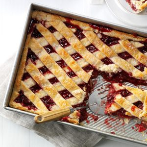Apple Cranberry Slab Pie