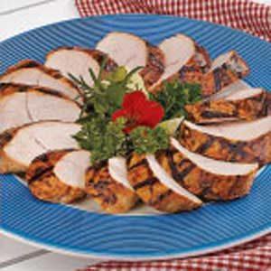 Grilled Marinated Turkey Tenderloins
