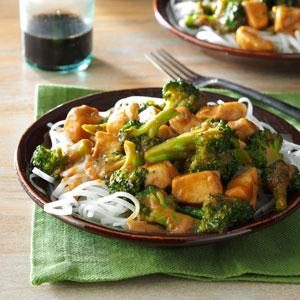 Peanut Chicken Stir-Fry