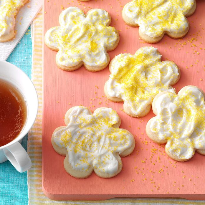 Melt-In-Your-Mouth Lemon Cutouts