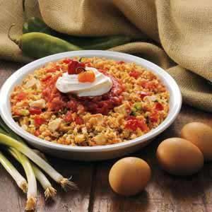 Fiesta Chicken 'N' Stuffing