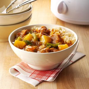 Slow-Cooker Sweet-and-Sour Pork