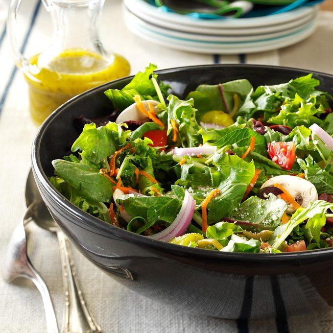 Italian Salad with Lemon Vinaigrette