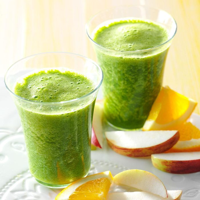 Ginger-Kale Smoothies