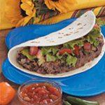 Soft Taco Burgers