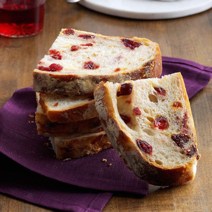 Rustic Cranberry & Orange Bread