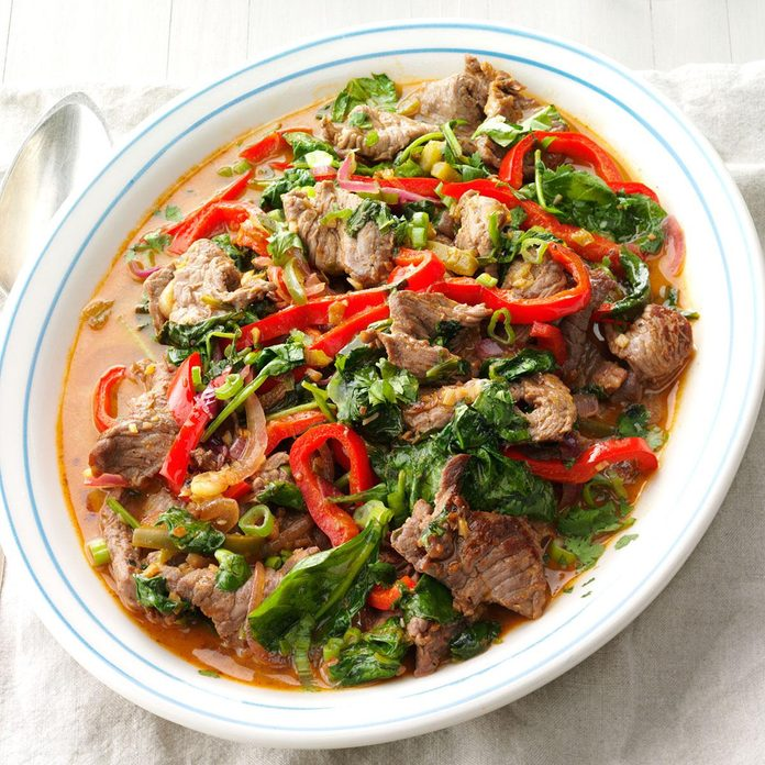 Inspired by: Sirloin Stir-Fry